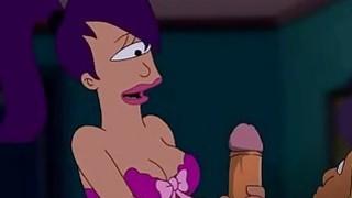 Futurama Porn  Zapp pole for Turanga girl thumb