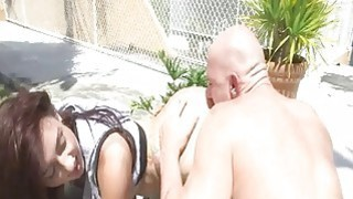 Hot pornstar babe Mandy Muse ass licked thumb