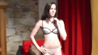 Hot lapdance by fresh czech cutie thumb