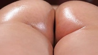 Guru rubs oil drills huge dick into wet pussy on hottie Mia thumb
