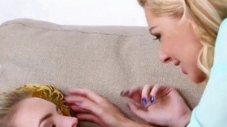 Teen beauty Cosima Knight lesbosex with hot mom Sasha Sean thumb