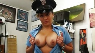 Dude banged this huge ass police officer thumb