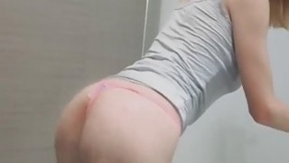 Hot bigtit GF blows in shower thumb