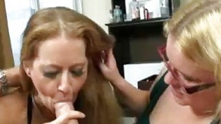 Guy Eyes On Mom And StepDaughter With A Hardon thumb