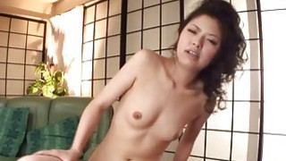 Asian babe gets her titties sucked by horny hunks thumb