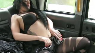 Local escort gives blowjob and fucked driver in the cab thumb
