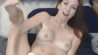 Sexy Webcam Chick Toys her Pink Pussy on Cam thumb