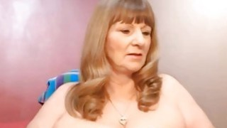 Blonde Mature Shows Off On Webcam thumb