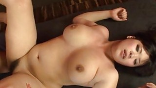 Japanese with knockers delights with irrumation thumb