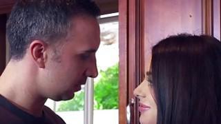 Hot Lana Rhodes deep throat blowjob Keiran Lees pecker thumb