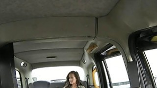 Lady in pink underwear boned by nasty driver in the cab thumb