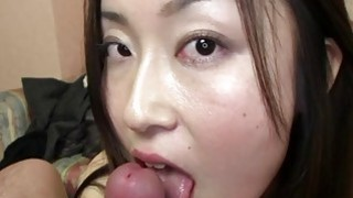 Subtitles Japanese amateur POV blowjob in HD thumb