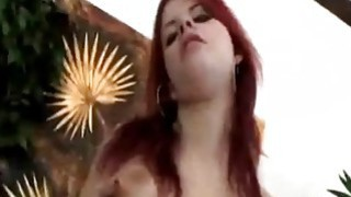 Redhead Seduces Guy And Rims_His Asshole Before Using Strap-on thumb