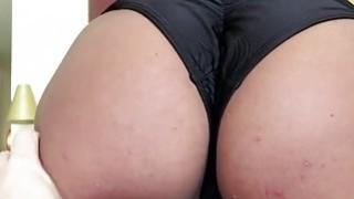 Big assed Lexy Bandera deepthroats cock like an expert thumb