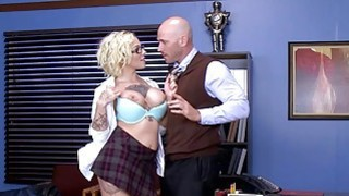 Brazzers Dirty school girl Harlow Harrison thumb