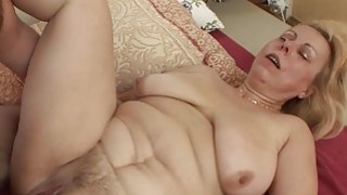 Saggy Breasted Blonde Mature Stepmom_Anal Fucked thumb