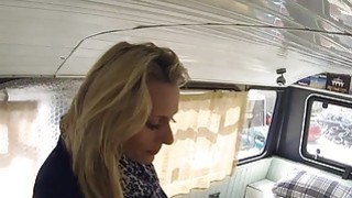 Fake cop anal bangs blonde in banging bus thumb