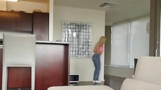 Busty Lesbian MILF Alexis Fawx Gets Fucked By Petite Blonde Beauty Elsa Jean thumb