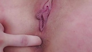 Ashley Adams first anal creampie thumb