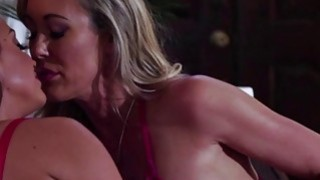 High schooler Abigail and hot Brandi get despicable for lesbian sex thumb
