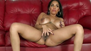 Thanksgiving Cum on MILF Latina Face thumb