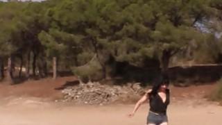 Fake cop anal fucks Spanish amateur babe thumb