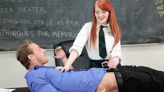 Anything_to_help_his_student_focus_on_her_lines thumb