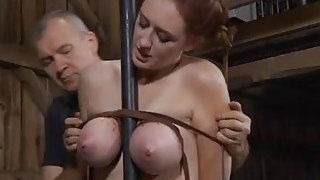 Titty castigation for wicked chick thumb