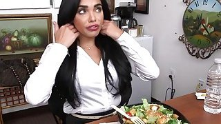 Babe Selena Blowing Agent Huge Schlong_In Office thumb