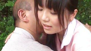 Subtitles bizarre_Japanese half naked caregiver thumb