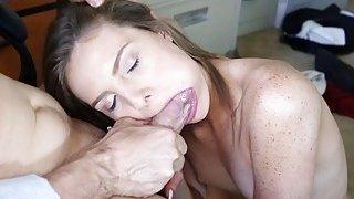 Shyla Ryder giving Mr Rich a blowjob thumb