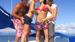 Group sex with_sexy Angelina Love and hot Renata Black thumb