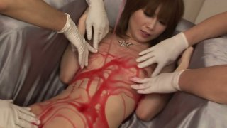 Miraculous star Rika Sakurai likes to get all her erogenic zones stimulated thumb