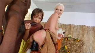 Julie Night_and Jayda Diamonde go wild with BBC thumb