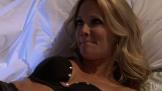 Hot like fire blondie Jessica Drake is pro in position 69 thumb