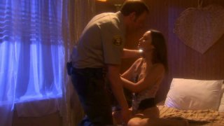 Retro video of an oral sex with Amber Rayne thumb