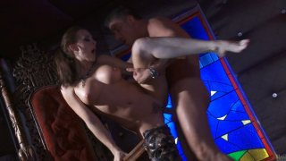 Brown haired nympho Chanel Preston_gets banged by brutal macho thumb