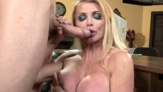 Passionate blonde whore Taylor Wane gets poked hard by Jordan Ash doggy style thumb