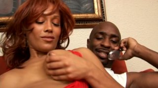 Red haired mulatto with cellulitis ass Cassidy Cummings is a real cum gourmet thumb