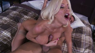 Voracious Puma Swede sucks Keiran Lee's fat dick and gets hammered doggy style thumb