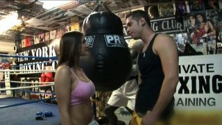 Boxing fight ends up with facesitting on the ring for Austin Kincaid thumb