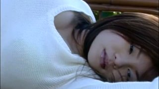 Stunning japanese model Yoko Matsugane poses on cam showing her seductive look thumb