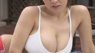 Kinky Japanese model Hitomi Tanaka poses wearing sassy outfit thumb