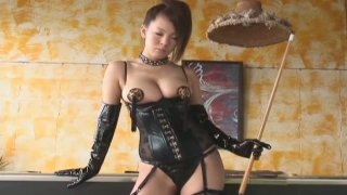 Scorching Japanese maiden Hitomi Tanaka is a very bad girl thumb