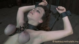 Nasty chick Dixon Mason_is starring in a hardcore BDSM video produced by Infernal Restraints thumb