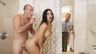 Big booty slut cheating on her man thumb