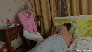 Danna wakes up her bf for hotblowjob and sex thumb