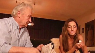 Best Alice Romain Teen anal fuck with grandpa old thumb