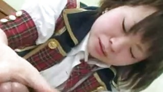 Mayu Nakane Japan SchoolGirl Hairy Pussy Plugged thumb