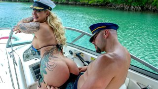 jmac & Ryan Conner in Doing Anal In A Wild Boat Ride - AssParade thumb